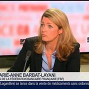 Marie-Anne Barbat-Layani, directrice générale de la Fédération Bancaire Française (FBF), dans Le Grand Journal 4/4