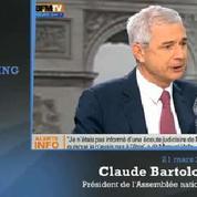 Tribune de Sarkozy : «C'est du Berlusconi», estime la gauche