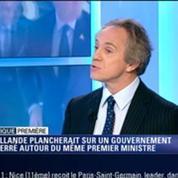 Politique Première: Remaniement: François Hollande plancherait sur un gouvernement resserré