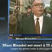 Décès de Marc Blondel : «un syndicalisme libre et indépendant»