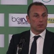 Football / Ligue 1 : Der Zakarian en colère après ses joueurs
