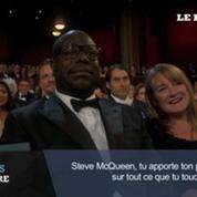 Très émue, Lupita Nyongo reçoit l'Oscar du meilleur second rôle