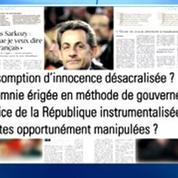Ecoutes : Nicolas Sarkozy contre-attaque et frappe fort