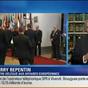 BFM Story: L'Union européenne sanctionne la Russie: il s'agit de sanctions ciblées contre les responsables de l'annexion de la Crimée, selon Thierry Repentin