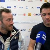 Jeux paralympiques / Sotchi : Cyril Moré et Frédéric François présentent le hockey sur le luge