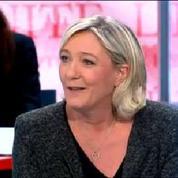Marine Le Pen apprend en direct l'élection de Steeve Briois à Hénin-Beaumont