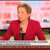 Laurence Parisot, ex-présidente du Medef, dans Le Grand Journal 4/4