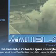 New-York : les premières images de l'explosion