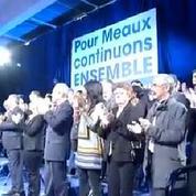 Riposte de Sarkozy : à Meaux, les militants UMP approuvent