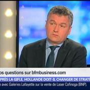 Après la gifle, Hollande doit-il changer de stratégie ?, dans Les Décodeurs de l'éco 2/5