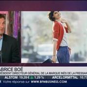 Made in Paris: Fabrice Boé, Inès de la Fressange, dans Paris est à vous