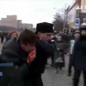 Violences contre les partisans du gouvernement dans l'est de l'Ukraine