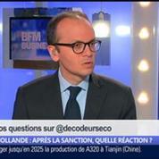 Hollande: après la sanction, quelle réaction ?, dans Les Décodeurs de l'éco 3/5