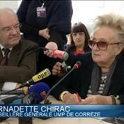 Bernadette Chirac s'oppose au redécoupage électoral des cantons