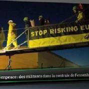 Top Média : Des militants de Greenpeace s'infiltrent dans la centrale nucléaire de Fessenheim