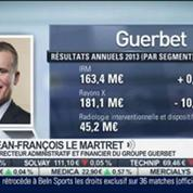Guerbet: résultats annuels 2013: Jean-François Le Martret, dans Intégrale Bourse