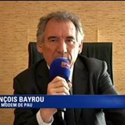 Bayrou : «Je ne crois pas qu'un remaniement changera quelque chose»