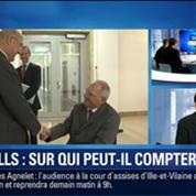BFM Story: Vote de confiance: sur qui peut compter Manuel Valls à l'Assemblée ?