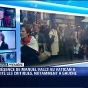 Canonisation des papes Jean Paul II et Jean XXIII: la participation de Manuel Valls critiquée