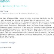 PoliticoZap: Valls chahuté à l'Assemblée