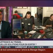 La tendance du moment: Souffrance au travail et si on en parlait ?, dans Paris est à vous –