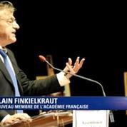 Alain Finkielkraut: la syntaxe s'effondre, le vocabulaire se rabougrit