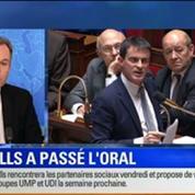 BFM Story Édition spéciale sur le discours de Manuel Valls à l'Assemblée nationale 4/7