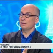 Émission spéciale Paris, la nuit: Xavier Zunigo, Eric Labbé, Elisabeth Bourguinat et Frédéric Hocquard, dans Grand Paris 2/4