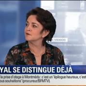 BFM Story: Gouvernement Valls: Ségolène Royal s'est-elle démarquée en reprenant le dossier écotaxe ?