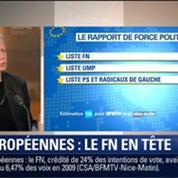 Le Soir BFM: Européennes 2014: le FN va-t-il devancer le PS et l'UMP ? 2/3