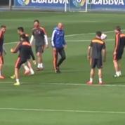 Football / Zidane toujours aussi facile à l'entraînement