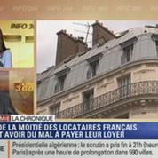 L'Éco du soir: 43 % des Français ont du mal à payer leurs loyers
