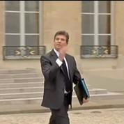 Conseil des ministres: le message de Manuel Valls est bien passé