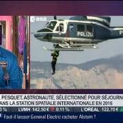 Le Paris de Thomas Pesquet, astronaute, dans Paris est à vous –