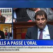 BFM Story Édition spéciale sur le discours de Manuel Valls à l'Assemblée nationale 3/7