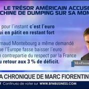 Marc Fiorentino: Le trésor américain accuse la Chine de dumping sur sa monnaie