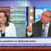 Manuel Valls marche-t-il sur les traces de Schröder et de Blair ?, dans Les Décodeurs de l'éco 4/5