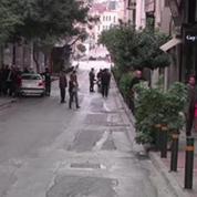 Une bombe explose en plein coeur d'Athènes
