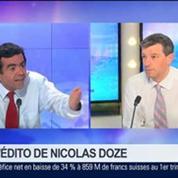 Nicolas Doze: Arrêtons de dire que le SMIC protège les gens –