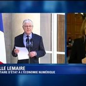 Axelle Lemaire, nouvelle secrétaire d'Etat chargée du Numérique, réagit à sa nomination