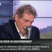 Le parti pris d'Hervé Gattegno: Harlem Désir au gouvernement, c'est une faute!