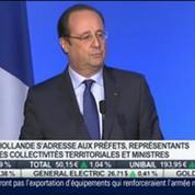 Intervention de François Hollande: Le discours de mobilisation pour l'emploi