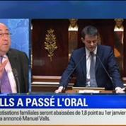 BFM Story Édition spéciale sur le discours de Manuel Valls à l'Assemblée nationale 2/7