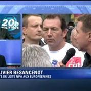 Olivier Besancenot dénonce le coup de barre à droite du gouvernement Valls