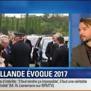 BFM Story: François Hollande ne sera pas candidat en 2017 si le chômage ne baisse pas