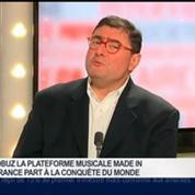 Yves Riesel, fondateur de la plateforme musicale Qobuz, dans Le Grand Journal 4/4