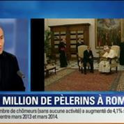 BFM Story: Canonisations: Rome accueillera plus d'un million de pèlerins