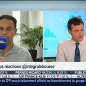 Fusions-acquisitions: Steria et Sopra, vers une fusion: Éric Lewin, dans Intégrale Bourse –