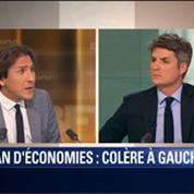 Le Soir BFM: Plan d'économies: Manuel Valls provoque la colère à gauche 2/4