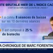 Marc Fiorentino: Chute brutale de l'indice CAC PME